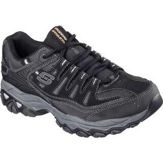 Skechers Men's After Burn Memory Fit Cross Training Shoe Black/Gray