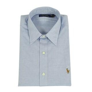 Ralph Lauren Men's Cotton Button Down Shirt