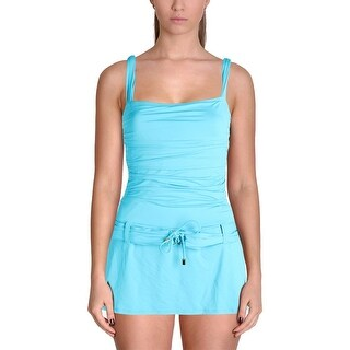 Bleu Rod Beattie Womens Stretch Belted One-Piece Swimsuit (2 options available)
