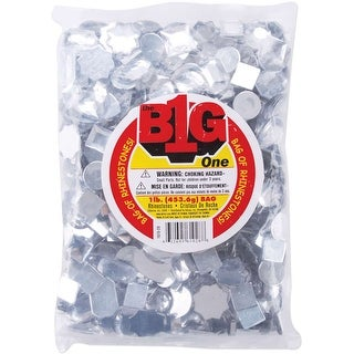 Rhinestone Shapes 1lb-Assorted Crystal