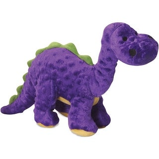 Purple - Godog Dinos Bruto With Chew Guard Large