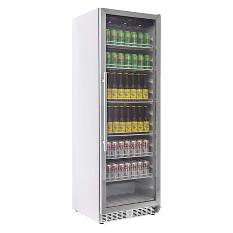 "EdgeStar VBR640 24"" Wide 12.38 Cu. Ft. Built-In Commercial Beverage - Stainless Steel"