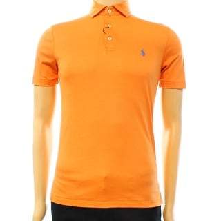 Polo Ralph Lauren NEW Orange Mens Size XS Short Sleeve Polo Shirt