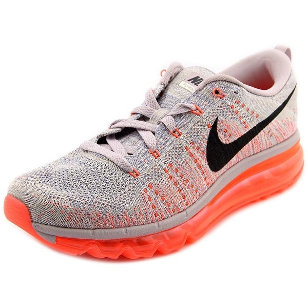 Nike Flyknit Max Round Toe Canvas Running Shoe