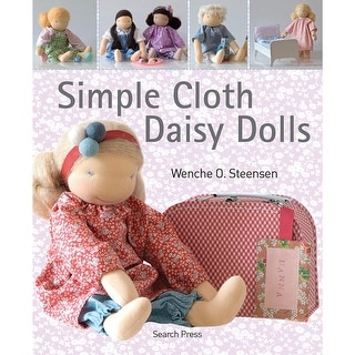 Search Press Books-Simple Cloth Daisy Dolls