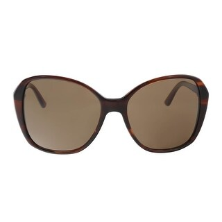 DKNY DY4122 366373 Brown Round Sunglasses - 57-17-140