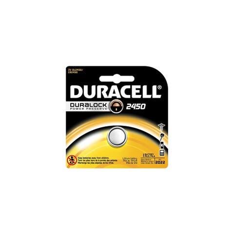 Duracell 3V Button Cell Lithium Battery DL2450BPK Button Cell Lithium Battery