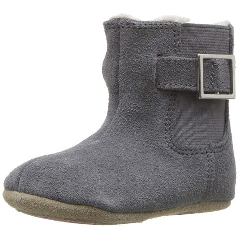 Kids Robeez Girls gwen boot Ankle Pull On Snow Boots