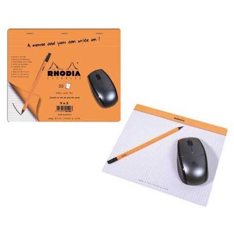 "Rhodia Mouse Pad - 7.5"" x 9"""