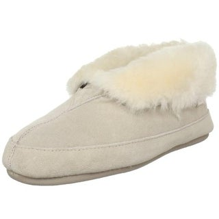 Tamarac by Slippers International Womens Galaxie Suede Shearling Bootie Slippers - 6 medium (b,m)
