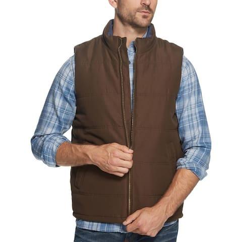 Weatherproof Vintage Mens Outerwear Vest Winter Quilted