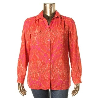 Spy Women 39 S Paisley Sheer Blouse Free Shipping On Orders Over 45 14338733