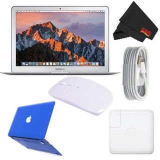 "Apple 13.3"" MacBook Air 256GB SSD #MQD42LL/A (Newest Version 2017 Model) Starter Bundle (Option: Blue)"