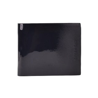 Givenchy Black Ombre Patent Leather Bifold 8CC Wallet