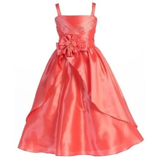 Wonder Girl Girls Verona Taffeta Formal Dress - 12