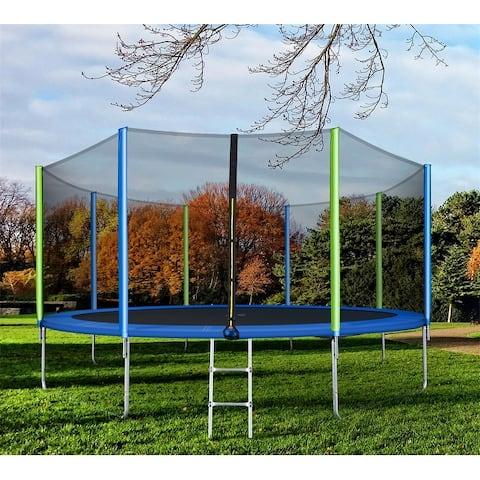 Moda Round Trampoline for Kids Safety Enclosure Net
