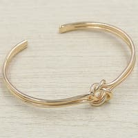 Mad Style Rose Gold Knotted Bracelet - rose gold