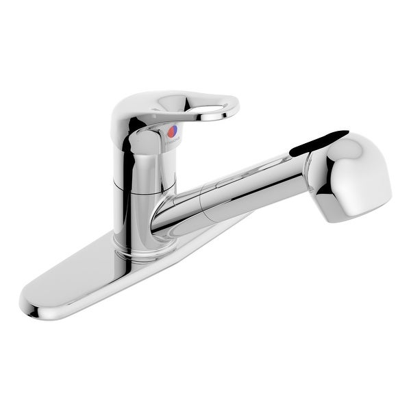 Symmons SK-6600-LP-1.5 Unity 1.5 GPM Widespread Pull Out Kitchen Faucet