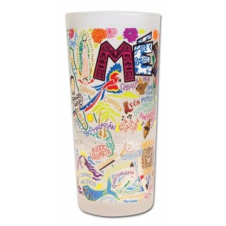 Heritage Glass Tumbler 15 Ounce Cup - Mexico