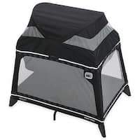 Graco Pack 'N Play Playard Jetsetter Lite, Rockweave Collection, Black