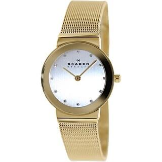 Skagen Women's 358SGGD Gold Stainless-Steel Quartz Fashion Watch