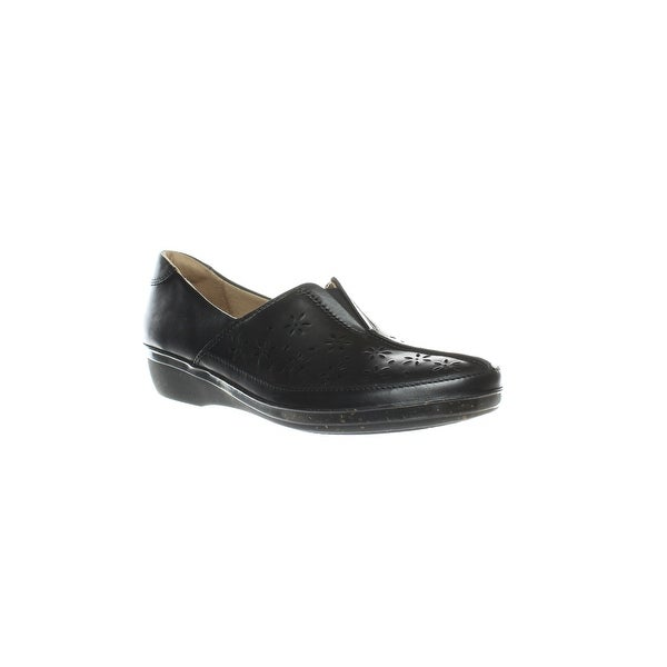 beb88f43f22 Shop Clarks Womens Everlay Dairyn Black Leather Heels Size 10 (AA