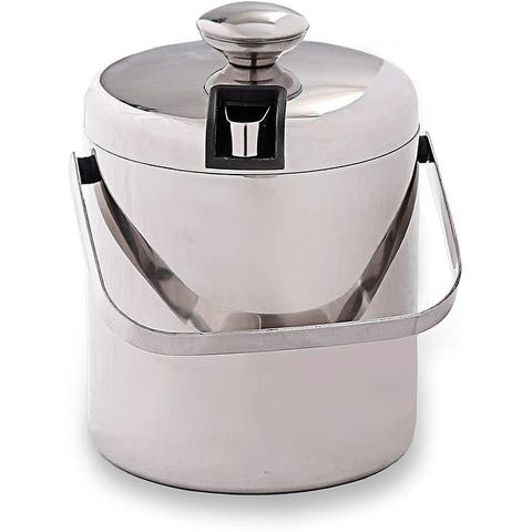 Premium Quality 3L Stainless Steel Double Durable Walled Ice Storage