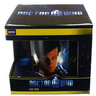Doctor Who 11th Doctor & Amy Pond 11oz. Ceramic Mug - Multi