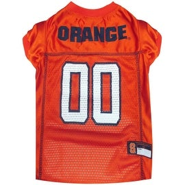 Collegiate Syracuse Orange Pet Jersey
