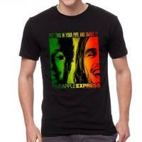 Pineapple Express Flag Poster Men's Black T-shirt