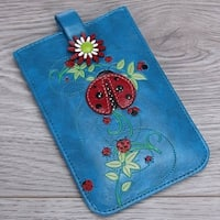 Mad Style Ladybug 3D Art Phone Carrier - Multi-color
