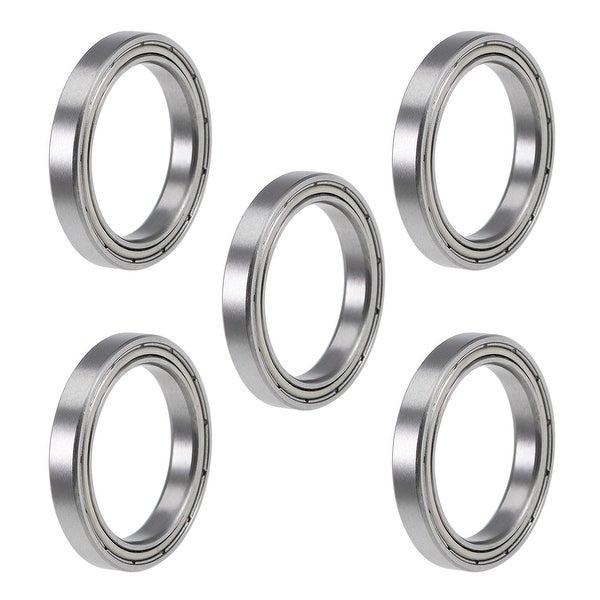 5PCS 6704ZZ Deep Groove Metal Double Shielded Ball Bearing 20mm*27mm*4mm