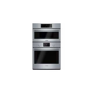 Bosch HBL57M52UC 30 Inch Wide 4.6 Cu. Ft. Built-In Oven/Microwave Combo with EcoClean - Stainless Steel - N/A