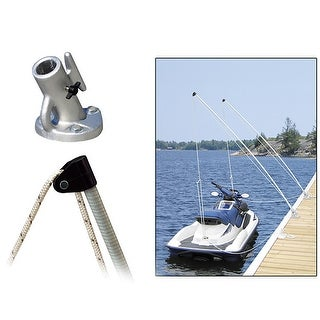 Dock Edge 3100-F Economy Mooring Whip 8 Ft 2000 Lbs Up To 18 Ft