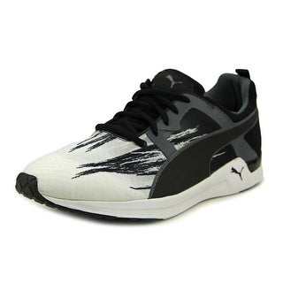 Puma Pulse XT Fade Men Round Toe Canvas Black Sneakers