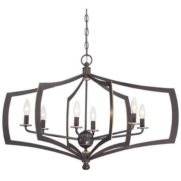 Minka Lavery 4376-579 6 Light Single Tier Chandeliers from the Middletown Collection
