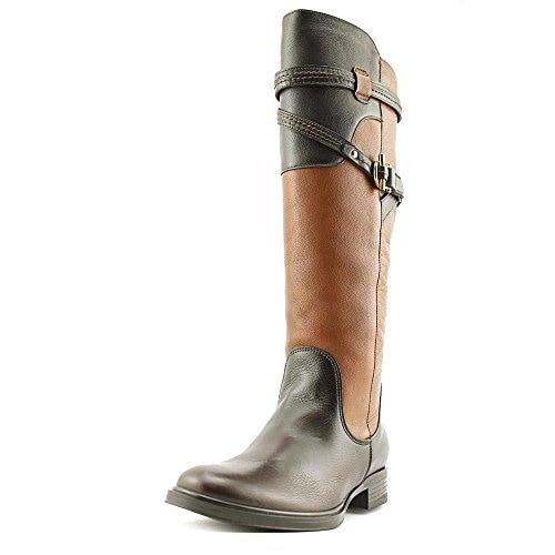 Truth or Dare by Madonna Womens Edwina Leather Almond Toe Knee High Fashion B... - 10