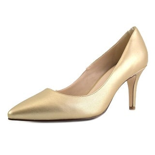 Cole Haan Juliana   Round Toe Leather  Heels