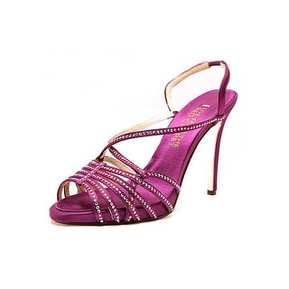 E! Live From The Red Carpet Tara Open Toe Canvas Sandals