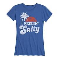 Feelin Salty - Ladies Short Sleeve Classic Fit Tee