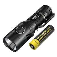 NITECORE MH20GT Multitask Hybrid Long Throw Mini Rechargeable Flashlight + Rechargeable Battery