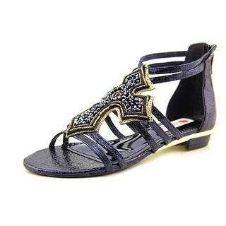 Two Lips Believe Open Toe Synthetic Gladiator Sandal