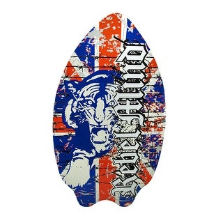 Union Jack `Rebel Mind` Panther Skim Board 37 In.