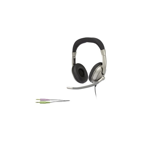 Cyber Acoustics AC-8001 Cyber Acoustics Stereo Headset For K8 - 12 - Stereo - Mini-phone - Wired - 20 Hz - 20 kHz -