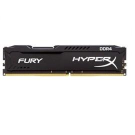 Kingston Memory HX424C15FB/16 16GB DDR4 2400 Unbuffered HyperX Fury Black Retail