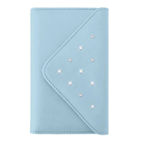 White Diamonds Grand Purse Case for Apple iPhone 6 Plus - Light Blue