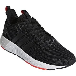 adidas Men's Questar Byd Sneaker Core Black/Core Black/Solar Red