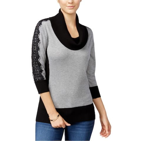 Bcx Womens Lace Pullover Sweater