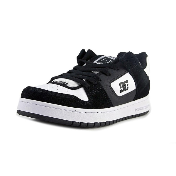 DC Shoes Manteca Men Round Toe Synthetic Black Skate Shoe