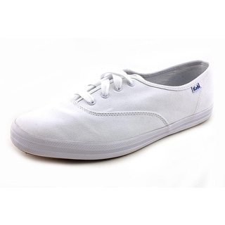 Keds Champion Lace-Up W Round Toe Canvas Sneakers